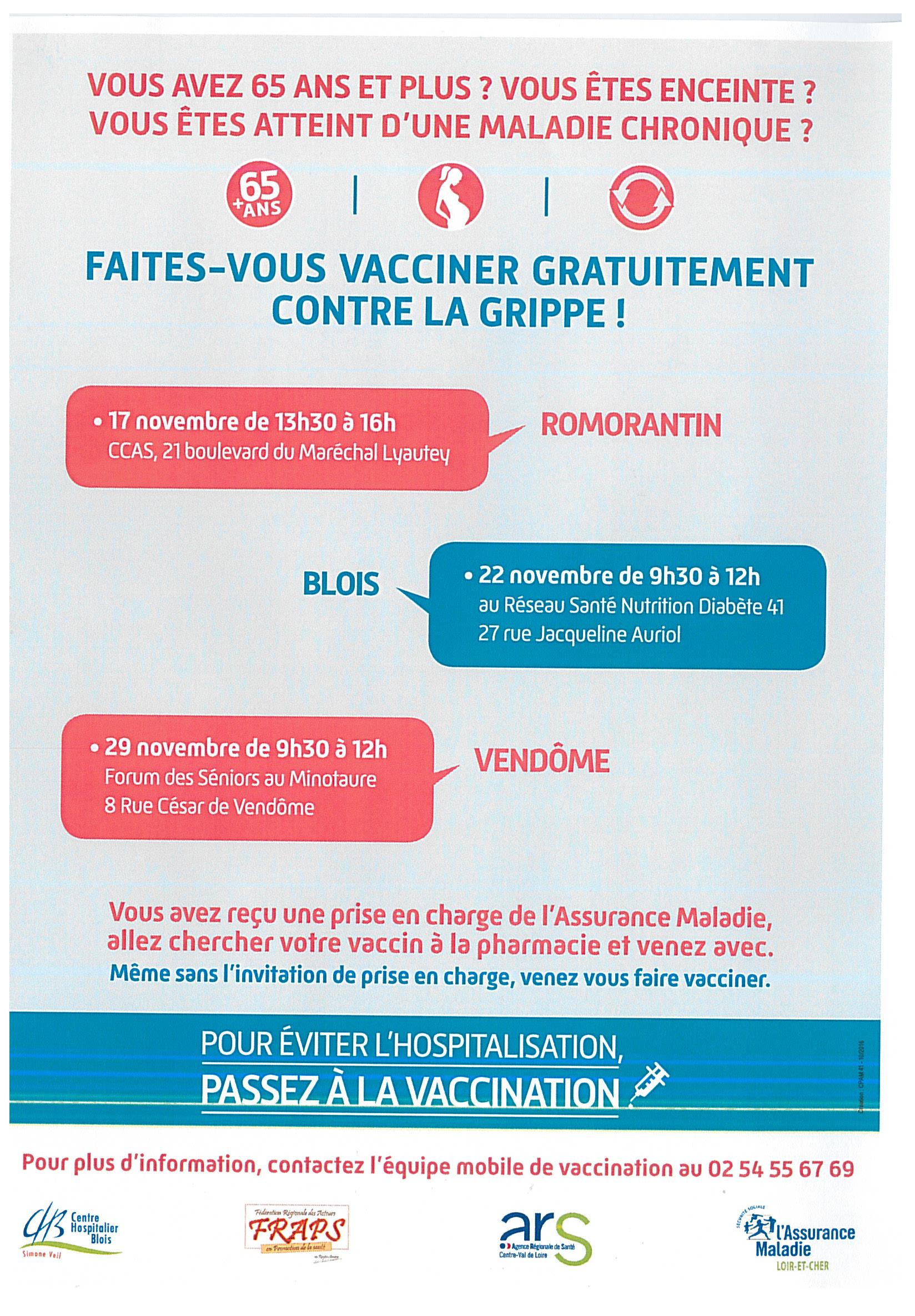 promouvoir la vaccination fraps centre val de loire. Black Bedroom Furniture Sets. Home Design Ideas